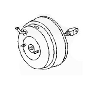 Subaru - Brake Booster Assembly #26402FE420